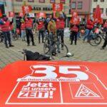 Proteste in Corona-Zeiten: IG Metall startet Warnstreiks