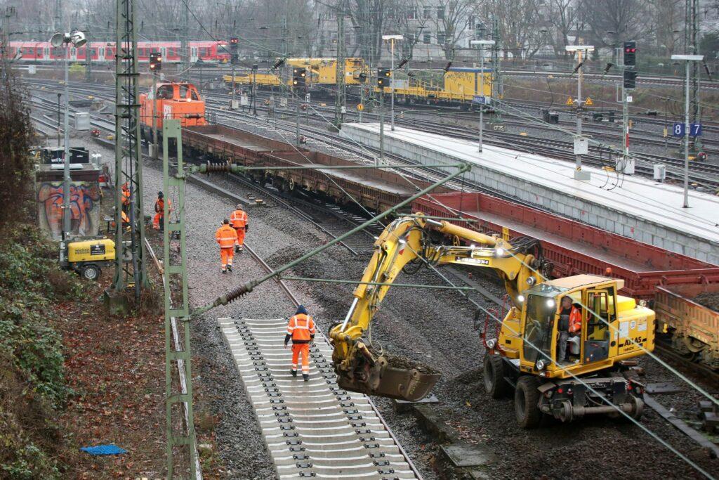 Bund: Sanierungsstau im Schienennetz hält sich