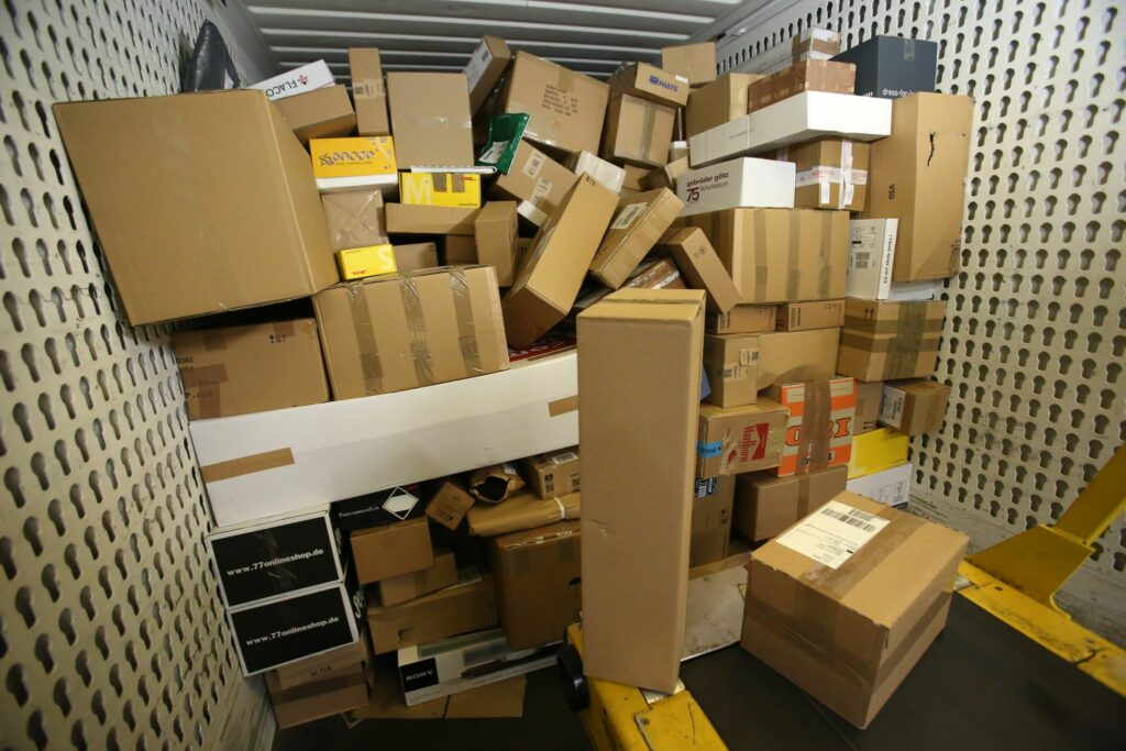 Unzufriedenheit mit Paketdiensten wird größer