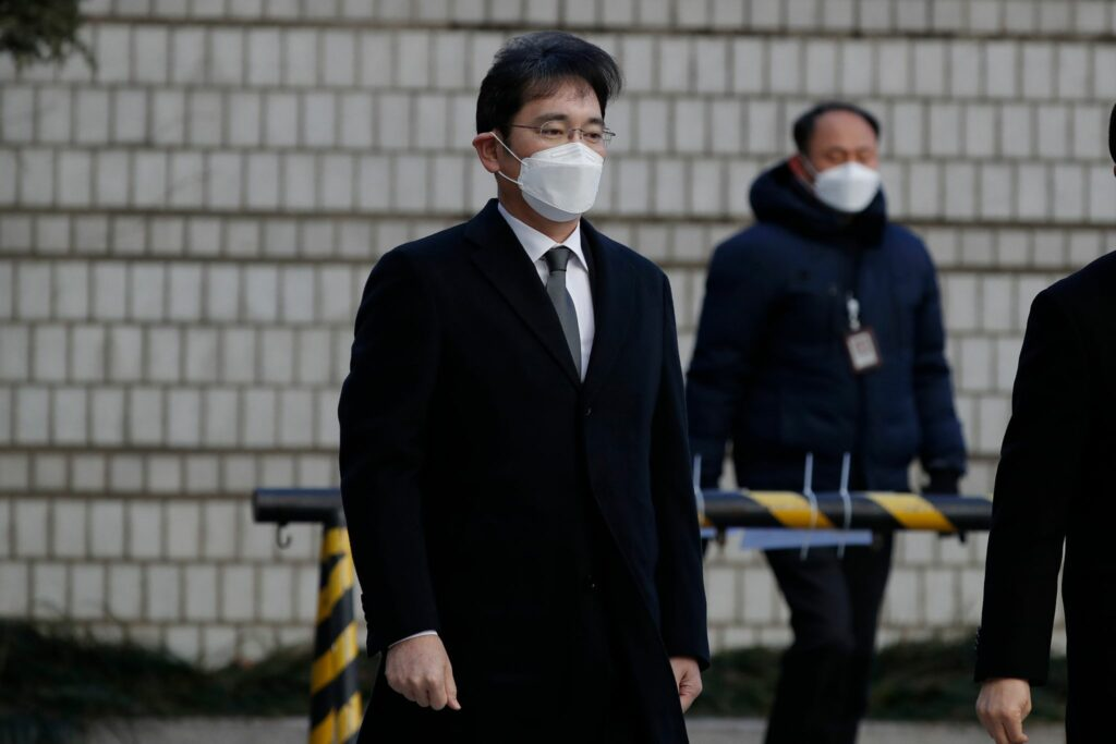 Anklage gegen Samsung-Erben:Staatanwalt fordert Haftstrafe