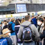 Chaos an Flughäfen bleibt trotz Reisewelle aus